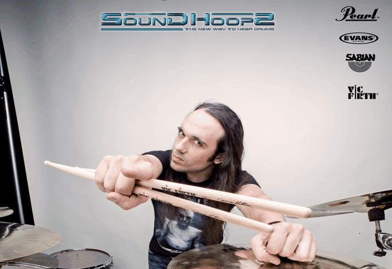 George Kollias Clinic präsentiert von Pearl & SoundHoops