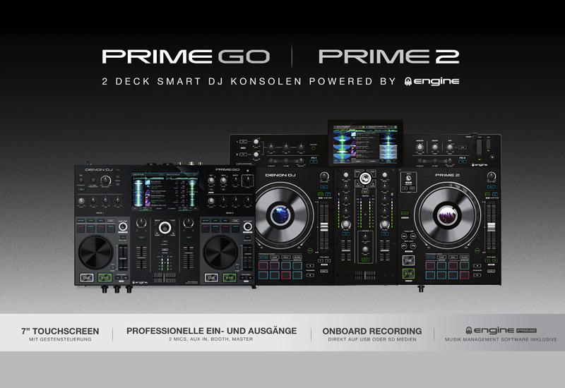 NAMM Show 2020 – DENON DJ präsentiert PRIME 2 & PRIME GO