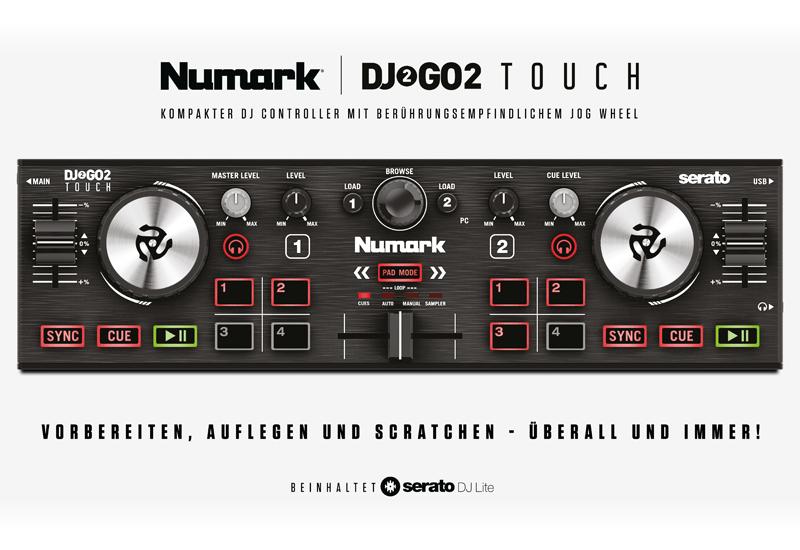 NAMM Show 2020 – NUMARK stellt den DJ2GO2 Touch vor!