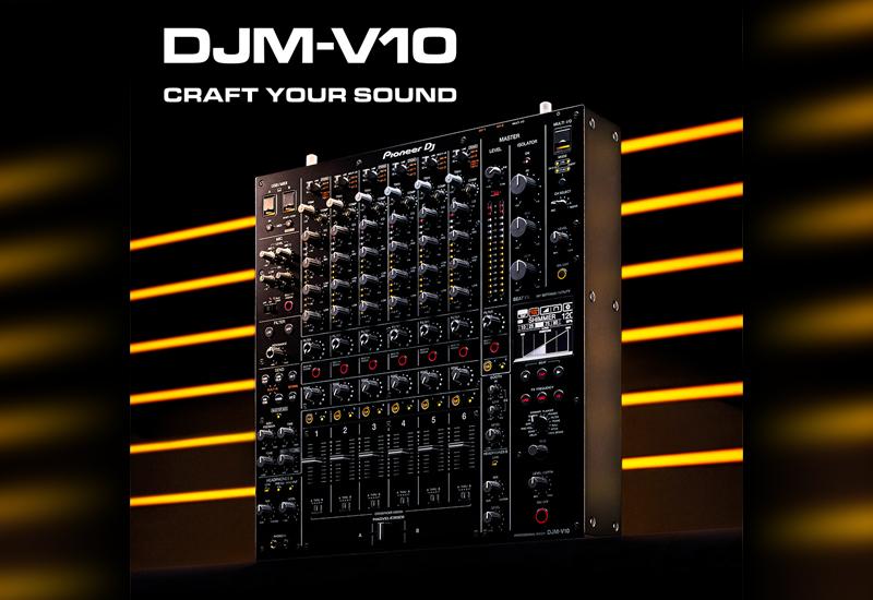 "NAMM Show 2020 – PIONEER DJ stellt den ""DJM-V10"" 6-Kanal Club-Mixer vor!"