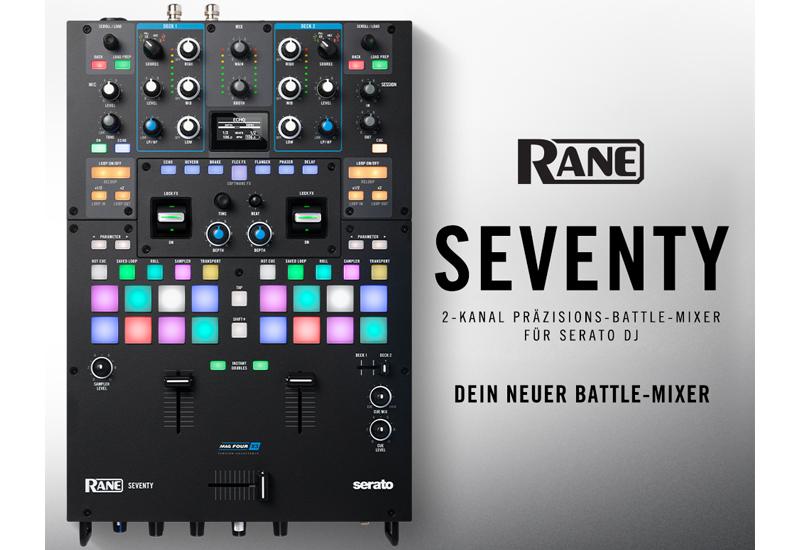 NAMM Show 2020 – RANE bringt den SEVENTY Battle-Mixer!