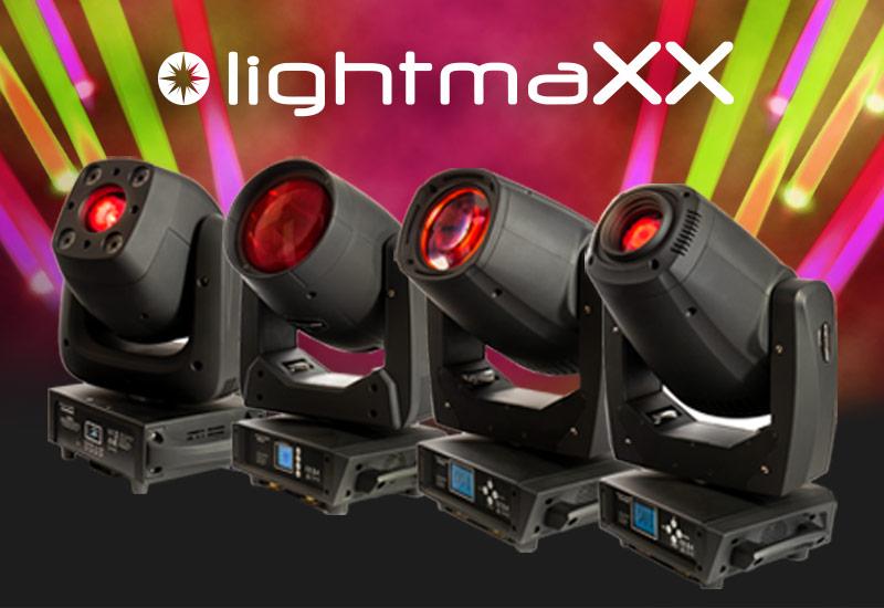 lightmaXX neue Moving Heads der Vega & Vector Serie
