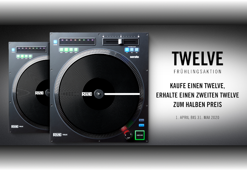 RANE – Twelve – Frühlingsaktion!