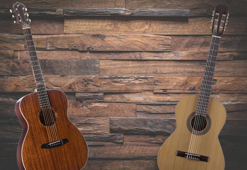 Western- oder Konzertgitarre? Welche Gitarre ist die richtige Wahl?