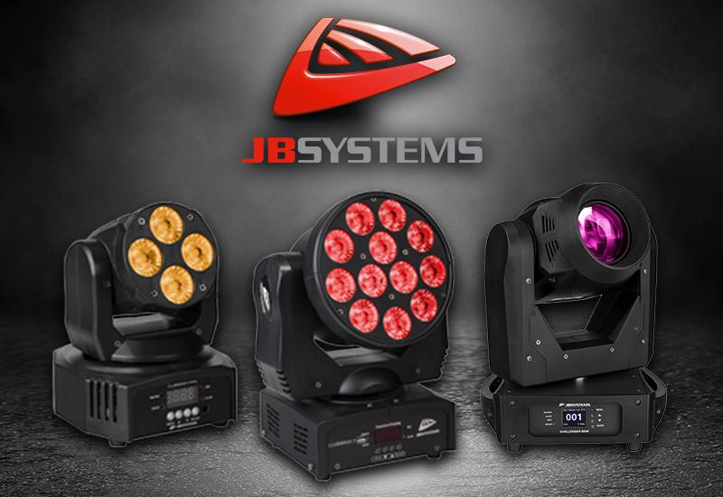 Die neuen Moving Heads von JB Systems