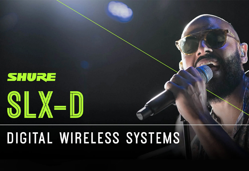 Neu: Shure SLX-D Wireless
