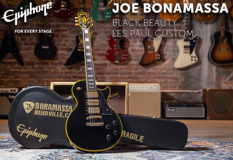 Epiphone Joe Bonamassa Black Beauty Les Paul Custom