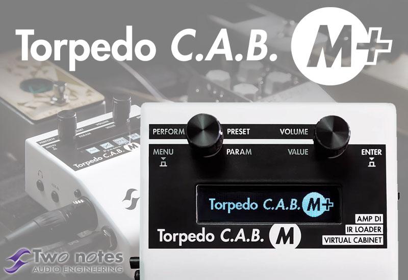 Two Notes – Kostenloses Software-Update für das Torpedo C.A.B. M!