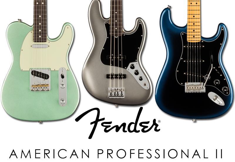 Fender American Professional II Serie