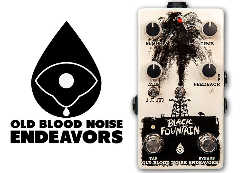 Old Blood Noise Endeavors Black Fountain Delay V3