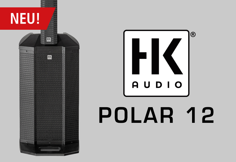 HK Audio Polar 12 – aktives Fullrange-Säulensystem