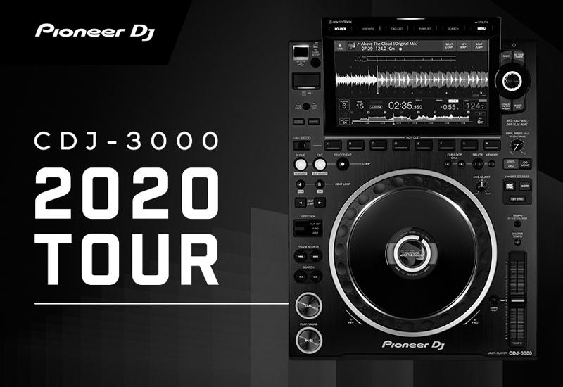 PIONEER DJ – CDJ-3000 Online Seminar am 08.10.2020!
