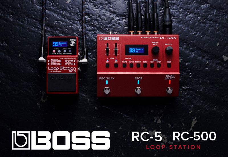 BOSS – RC-5 und RC-500 Loop Stations