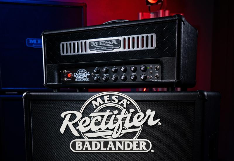 Mesa Boogie präsentiert den Badlander 50 und 100