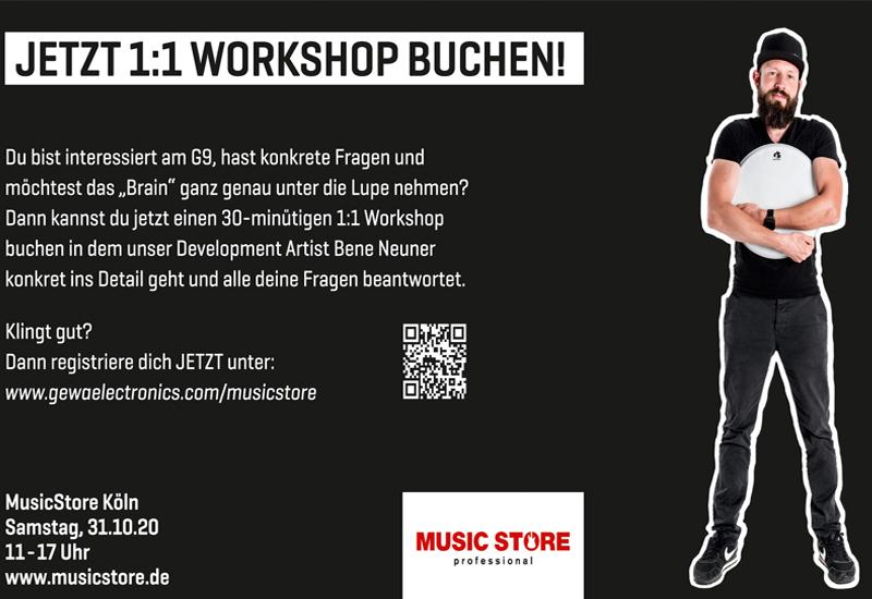 Gewa G9 Workshops mit Bene Neuner am 31.10. !!!ABGESAGT!!!