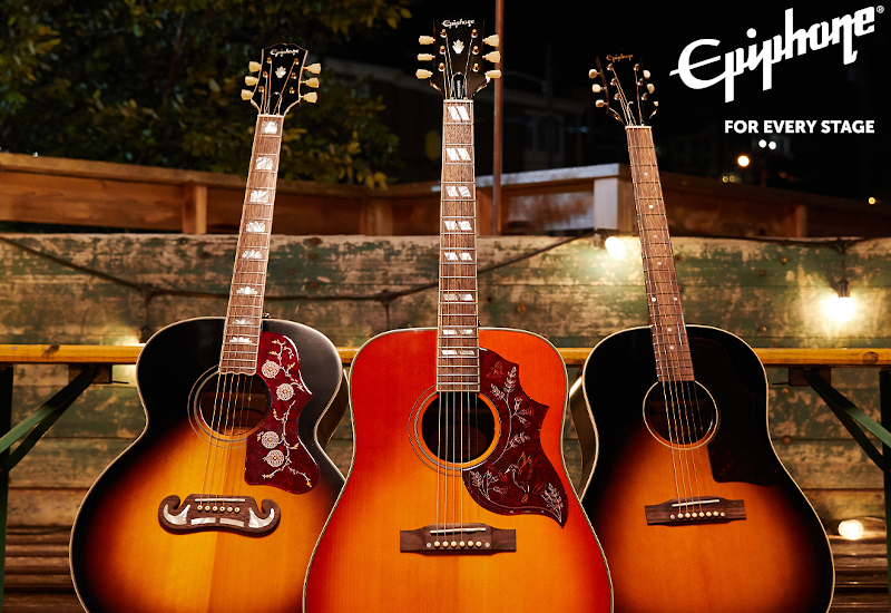 Epiphone Inspired by Gibson Acoustic-Collection