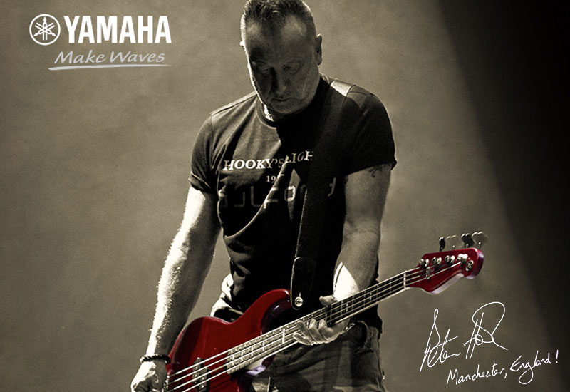 Yamaha BBPH Peter Hook Signature BB Red