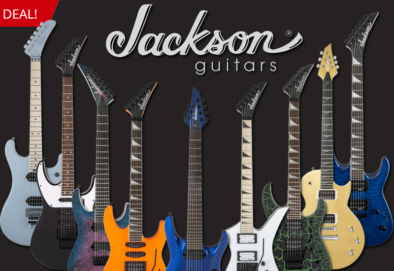 Großer Jackson Christmas Deal im MUSIC STORE Online Shop!