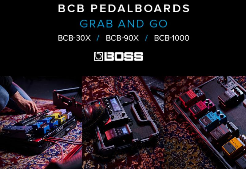 NAMM Show 2021 – Neue Boss BCB Pedalboards