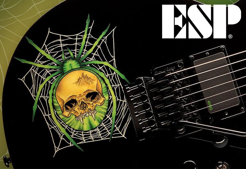NAMM Show 2021 – ESP Kirk Hammett 30th Anniversary KH-3 Spider