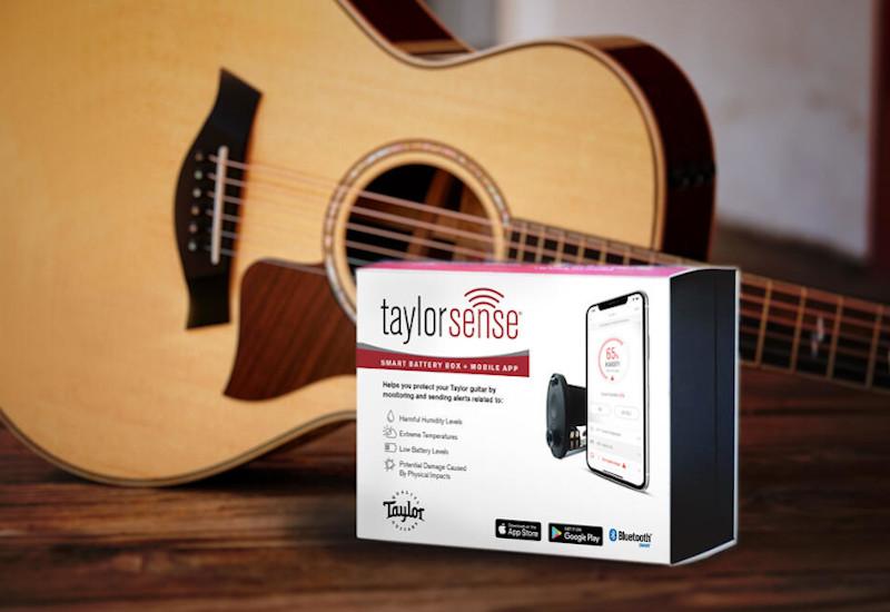 """NAMM Show 2021 – Hochentwickelte Taylor-Technologie für die perfekte Pflege deiner Taylor-Gitarre dank des neuen """"taylor sense""""-Systems"""