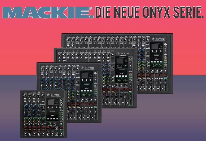 NAMM Show 2021 – Neue ONYX Analog-Mischpulte von Mackie