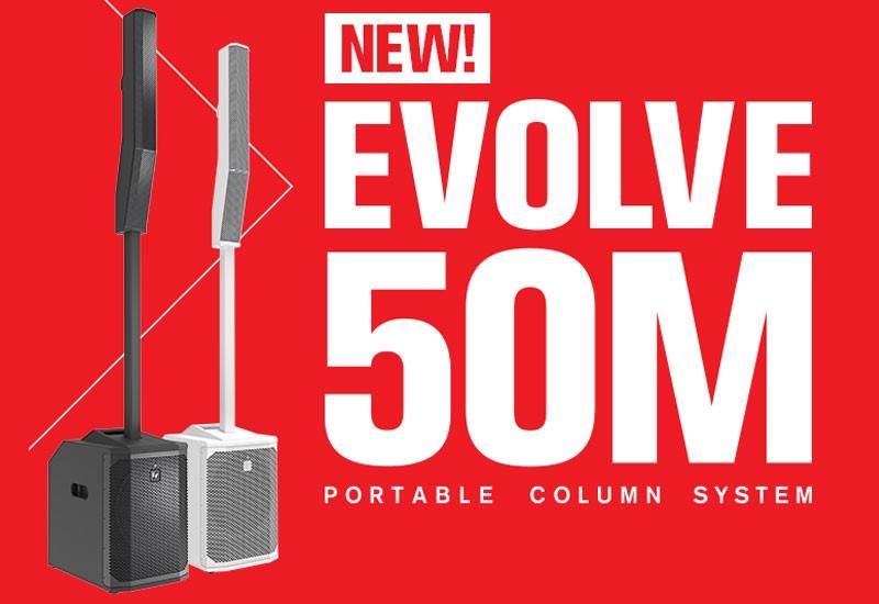 NAMM Show 2021 – Electro Voice EVOLVE 50M