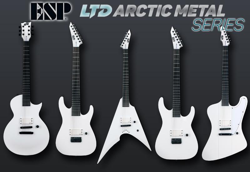 NAMM Show 2021 – ESP LTD Arctic Metal
