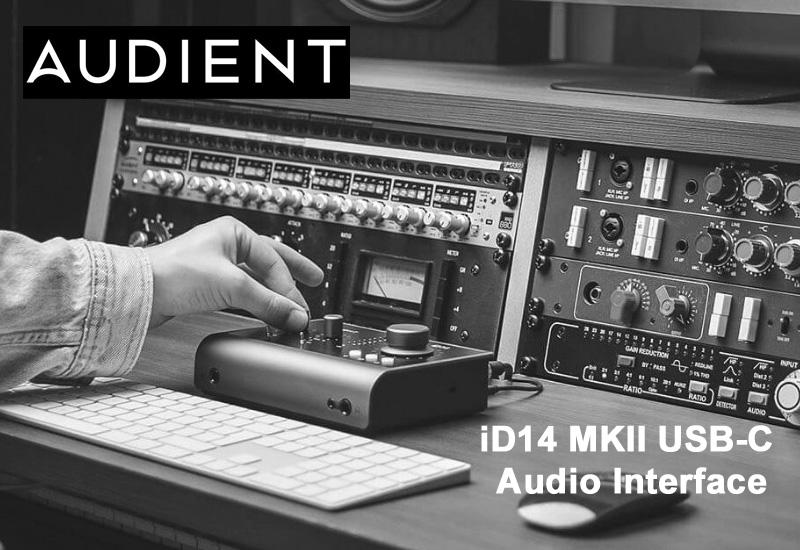 NAMM Show 2021 – Audient iD 14 MKII USB-C Audio Interface