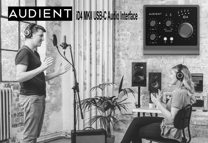 NAMM Show 2021 – Audient iD4 MKII USB-C Audio Interface