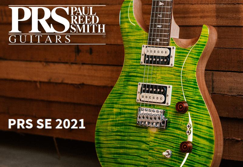 NAMM Show 2021 – Neue PRS SE Custom 24 und Zach Myers Modelle