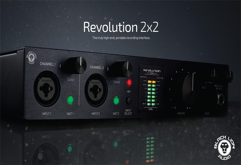 NAMM Show 2021 – Black Lion Audio Revolution 2×2 USB-Interface