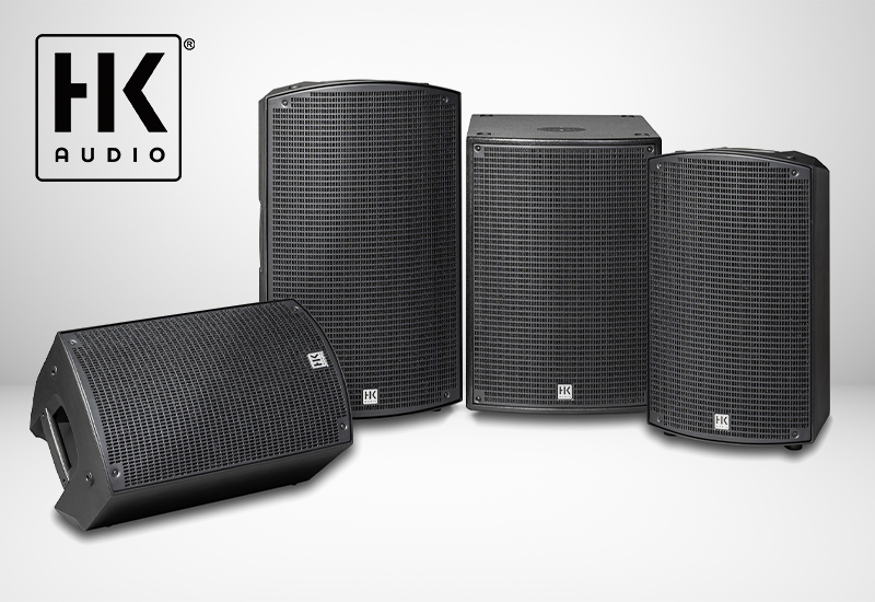 HK Audio – neue Sonar Boxenserie für Entertainer, DJs, Bands, Clubs, Leisure und Sporting