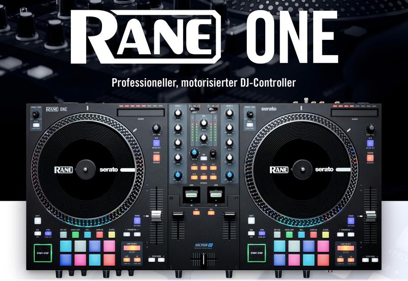 NAMM Show 2021 – RANE präsentiert den motorisierten Profi-DJ-Controller – ONE!