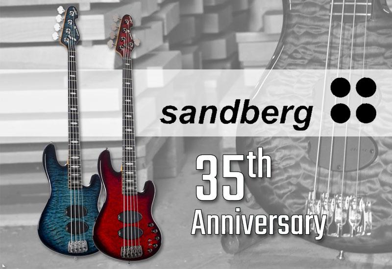 Sandberg California Supreme 35th Anniversary Prototypen in der Bassabteilung