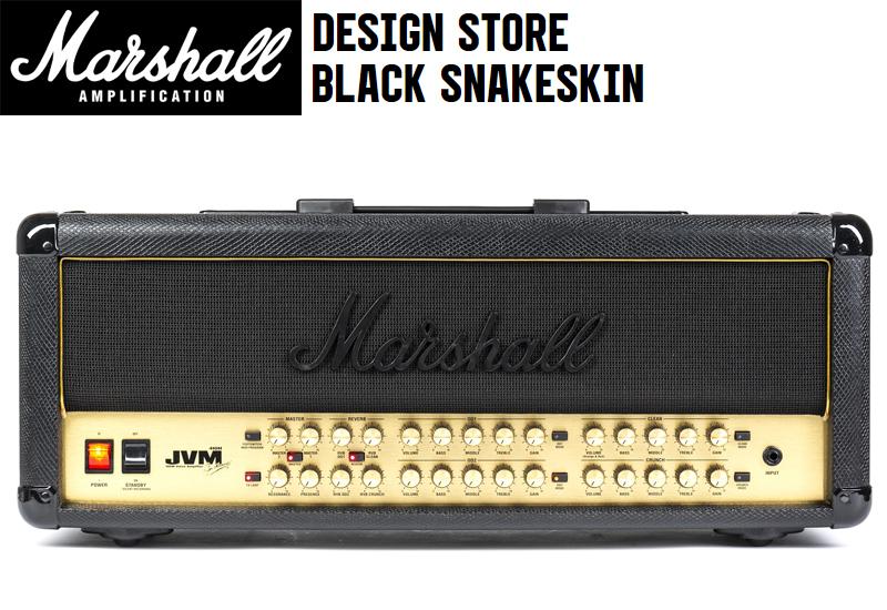 Marshall Design Store Black Snakeskin Series jetzt erhältlich!