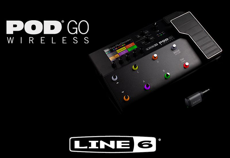 Line 6 POD GO Wireless – Zuwachs für die Line 6 POD Familie