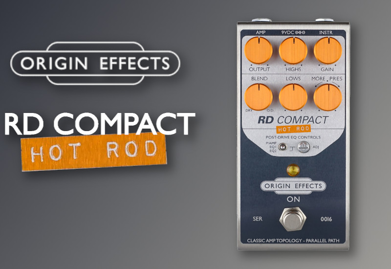 Origin Effects RevivalDRIVE Hot Rod Edition Compact