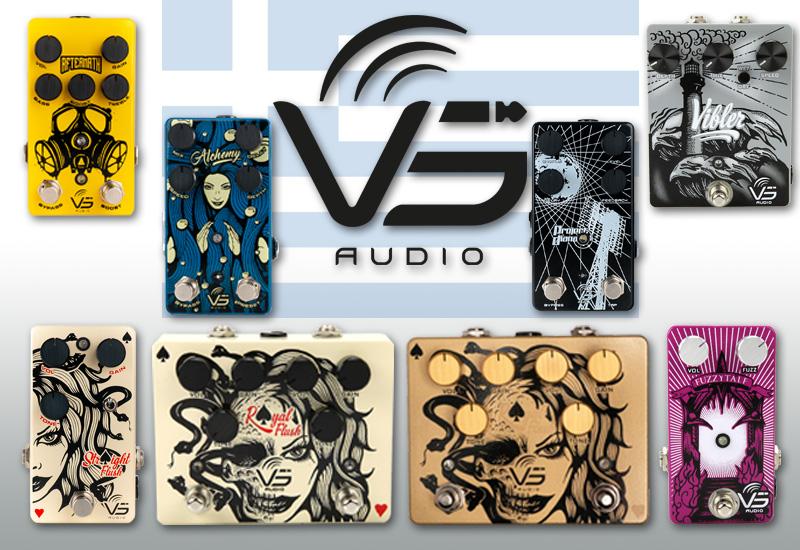 VS Audio Effektpedale – Ab sofort im MUSIC STORE erhältlich!