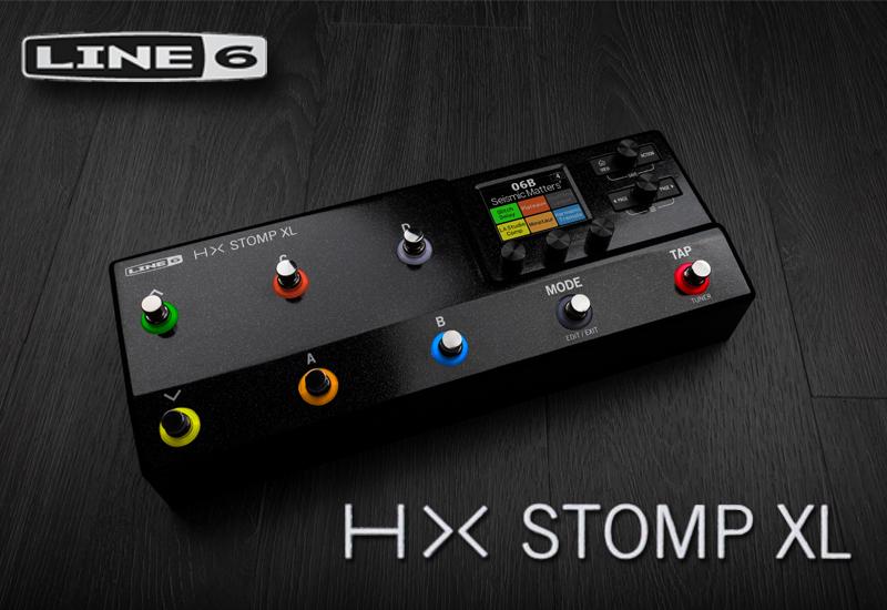 Line 6 HX Stomp XL – Zuwachs in der Helix-Familie