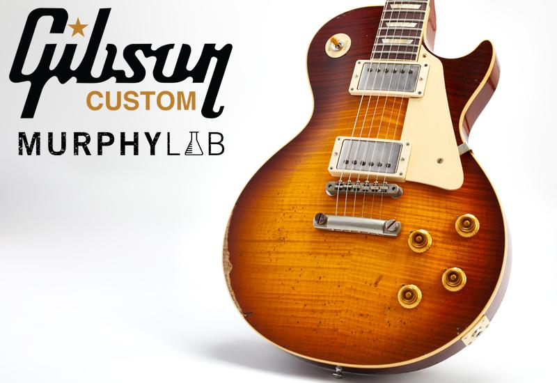 Gibson Murphy Lab – Authentisches Aging aus dem Gibson Custom Shop