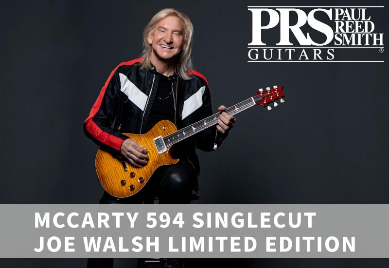PRS McCarty 594 Singlecut Joe Walsh Limited Edition – Streng limitierte Signature Gitarre für den Gitarristen der Eagles