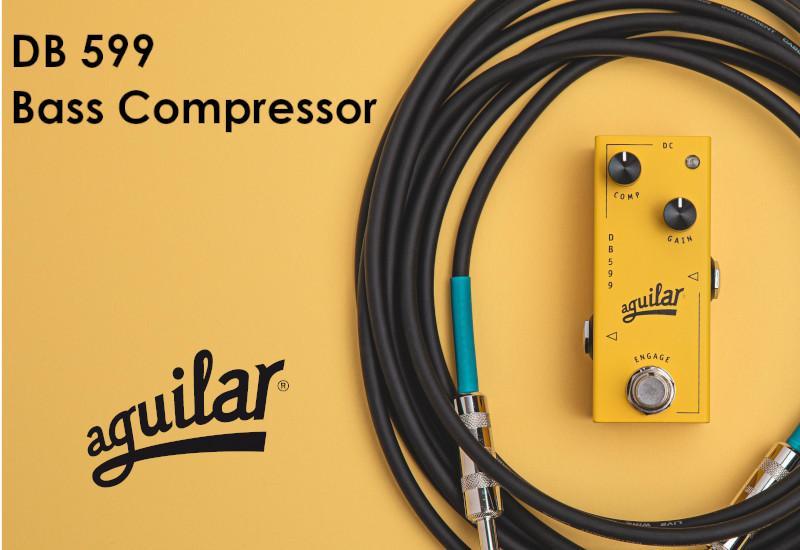 Aguilar DB 599 Bass Compressor – Geradliniger Bass-Kompressor im Micro-Format