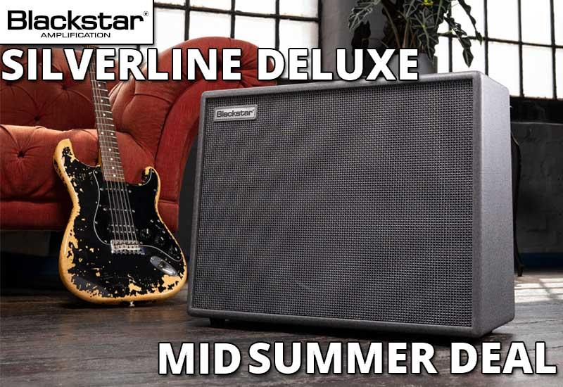Nur für kurze Zeit erhältlich: Blackstar Silverline Mid Summer Deal!