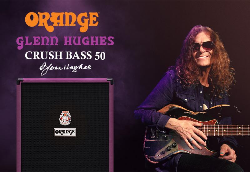 ORANGE Glenn Hughes Crush Bass 50 – Limitierter Bassverstärker für den britischen Starbassisten