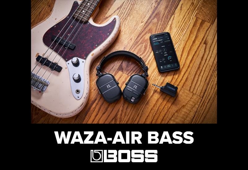 Boss WAZA-AIR Bass – Waza Craft Kopfhörerverstärker für Bassisten