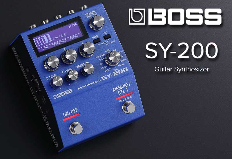 Boss SY-200 Guitar Synthesizer – Guitar Synth Sounds mit polyphonem Tracking