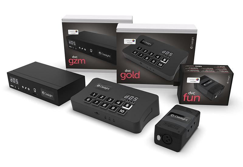 Bald erhältlich: überarbeitete DVC FUN, DVC GOLD und DVC GZM Interfaces von Daslight