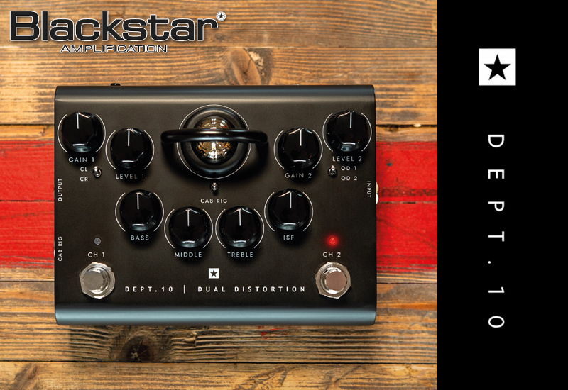 Blackstar Dept. 10 – Neue Effektpedal-Serie mit ECC83-Röhre