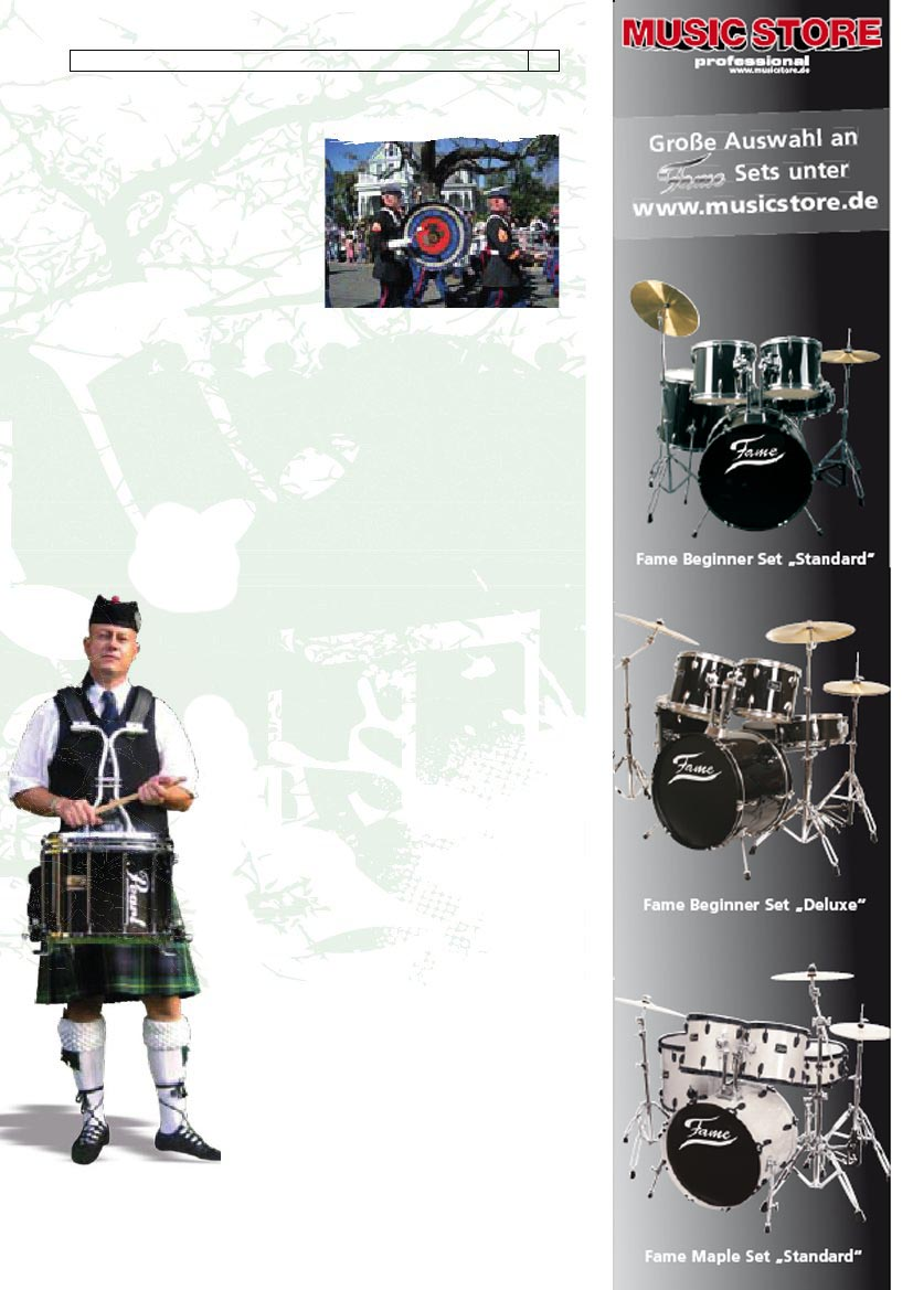 Special Marching Drums